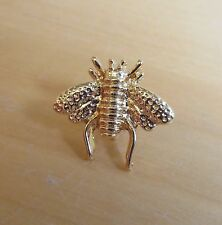 Little Bumble Bee silver OR gold tone Pin Brooch lapel badge STEAMPUNK