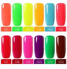 BELLE FILLE 10ml Bright Colors Nail Gel Polish Varnish Manicure DIY Soak-off UV