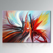 Framed Hand Painted Wall Decor Abstract Art Modern Canvas Oil Painting 90x120cm