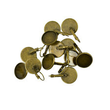 12pcs 16mm Round French Hook Earrings Hypoallergenic Earring Making Supplies