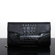 Crocodile clutch purse  Party evening bags Patent Leather Shoulder Bag for
