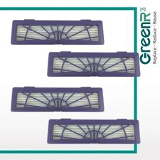 4x GreenR3 For NEATO 945-0123 BotVac 70e 75 80 85 Vacuum HEPA Replacement Filter