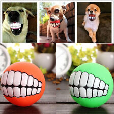 Pet Dog Cat Play Squeaky Squeaker Quack Sound Chew Treat Holder Funny Ball Toy