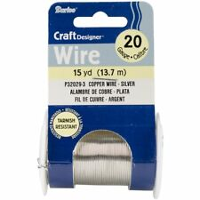 Darice Craft Wire 20 Ga NonTarnish Silver 15yd
