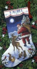 Dimensions Needlecrafts Counted Cross Stitch, Santa's Arrival Stocking