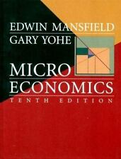 Microeconomics: Theory and Applications, Tenth Edition-ExLibrary