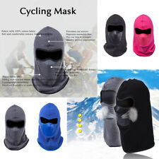 Mens Womens Windproof Warm Full Face Mask Thermal Riding Cycling Ski CS Hat Cap