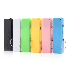Portable Mobile Power Bank USB Charger Key Chain case for Phone (No Battery) J9