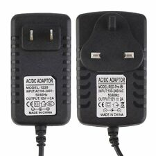 Hot DC 12V 2A AC Adapter Power Supply Transformer for 5050 5630 3528 LED Strip W