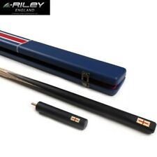 RILEY RES-701 One Piece Snooker Cue Case Set 9.5mm Tip with Snooker Cue Case