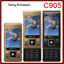 Sony Ericsson C905 Phone 8MP WIFI Bluetooth 3G Original Unlocked Mobile Phone