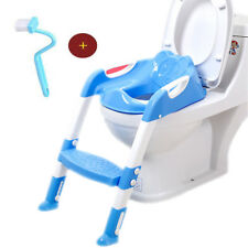 Baby Potty Toilet Seat Chair Training Seat With Adjustable Ladder Infant Safety