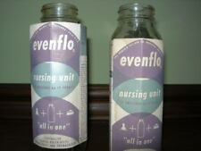 Vintage Glass Baby Bottles ~ Evenflo & Similac ~ 8 oz and 4 oz ~ see variations