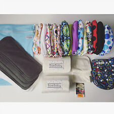 15 DELUXE PACK - BaeBaby - Reusable Modern Cloth Nappies - Diaper (MCNs)