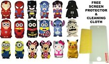 3D Marvel DC Superhero Disney Minion Silicone Case For Apple iPod Touch 5 & 6