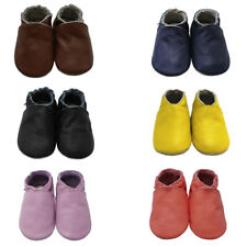 Mejale Baby Shoes Soft Smooth Leather Sole Toddler Infant LO Walking Moccasins