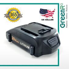 GreenR3 20V 2.0Ah Lithium Rechargeable Battery Power Tools For Worx WX093L