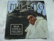 "Milano - Deal With A Feeling - 12"" Single - Sealed New -"