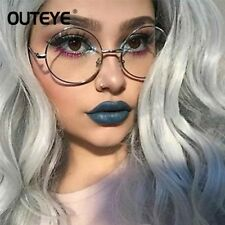 Round Clear Glasses Spectacles Retro Optical Eye Glasses Frames For Women