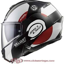 Casco modular LS2 VALIANT FF399 AVANT White Black Red talla XL
