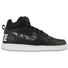 Nike Court Borough Mid Prnt GS 845102002 black over-the-ankle