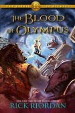 Heroes of Olympus, The, Book Five The Blood of Olympus (The Heroes of-ExLibrary