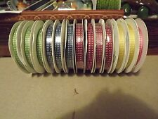 """Stampin' Up! 3/8"""" Stitched Satin Ribbon - In Color 2012-2014 - Choose Your Color"""