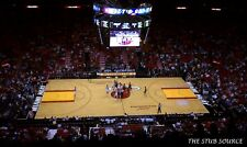 2 Cavaliers vs Miami Heat 3/27 Tickets 13th Row Center Court American Airlines