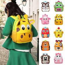Children Boy Girl Animal casual Backpack Cartoon Small Shoulder School Bag 2018
