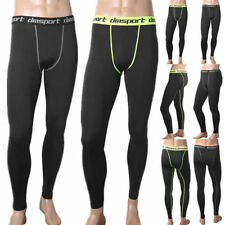 Men Compression Pants Base Layer Skin Tights Running Workout Gym Sports Trousers