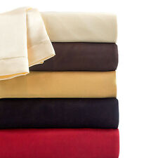 Plush Satin Bed Sheets 5 Colors 4 pc Sheet Set High Quality Luxury Bedding Set