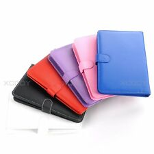 "Leather Stand Cover Keyboard Case Micro USB Multi-Color For 7"" Android Tablet PC"