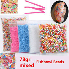 Craft Foam Beads Styrofoam Ball for Slime DIY and fishbowl beads Arts toys