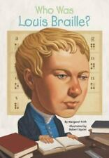 Who Was Louis Braille?-ExLibrary