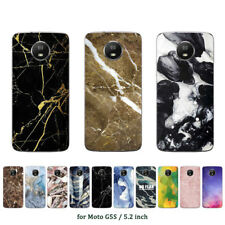 Soft TPU Silicone Case For Motorola Moto G5S Phone Back Covers Skins Printed