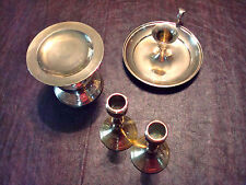 Vintage BRASS candle holders INDIVIDUALLY SOLD