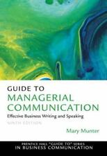 Guide to Managerial Communication (9th Edition) (Prentice Hall