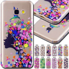For Samsung Galaxy Silicone Soft Skin Protective Back Rubber TPU Gel Case Cover