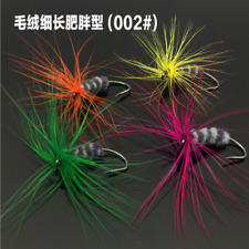 12/set Assortment Trout Fly Fishing Flies High-quality Wet Dry Nymph Buzzers