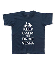 t-shirt baby KEEP CALM AND DRIVE vespa vespa mods style Who target carry on
