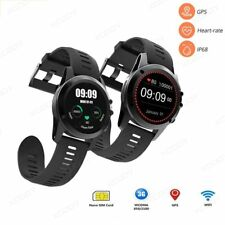 Android Smart Watch 3G WIFI Bluetooth 4GB Heart Rate Fitness Phone Mate GPS SIM