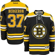 Patrice BERGERON Boston BRUINS Rbk Premier Officially Licensed NHL HOME Jersey,