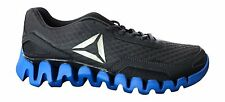 Reebok Men's Zig Evolution Running Shoes, Lead, Awesome Blue, Pewter