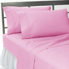 New Collection 1000TC Egyptian Cotton Duvet Collection Select Size & Item-Pink