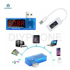 LCD USB Port Output Current Voltage Phone Battery Charger Current Tester Meter