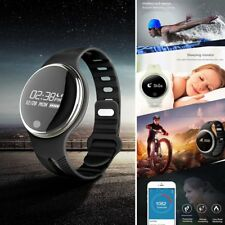 Bluetooth Watch Smart Bracelet Sports Sleep Monitor Wristband For Android IOS