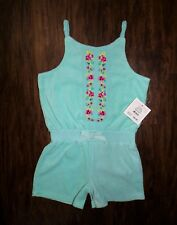 NEW NWT Baby Toddler JUICY COUTURE Flower Terry Romper SZ6-12,18-24 $68