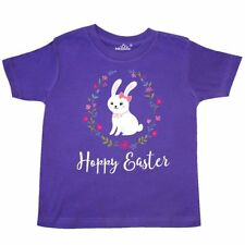 Inktastic Hoppy Easter Bunny Rabbit Toddler T-Shirt Holiday Woodland Animals 1st