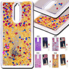 For Nokia 8 Silicone TPU Glitter Dynamic 3D Soft Skin Back Cover Quicksand Case