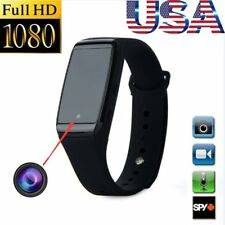 1080P HD SPY Cam DVR Hidden Camera Wristband Wrist Watch Mini Video Recorder USA